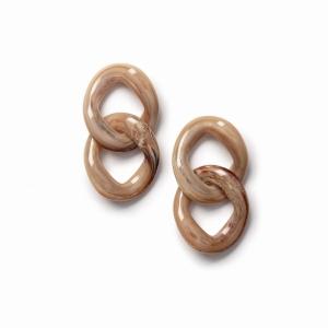 CON EARRINGS SAND logo