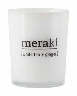 SCENTED CANDLE WHITE TEA logo